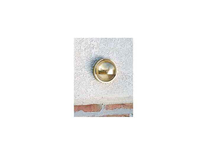 Deck Light, Brass, Round Step, 2W LED, 12V