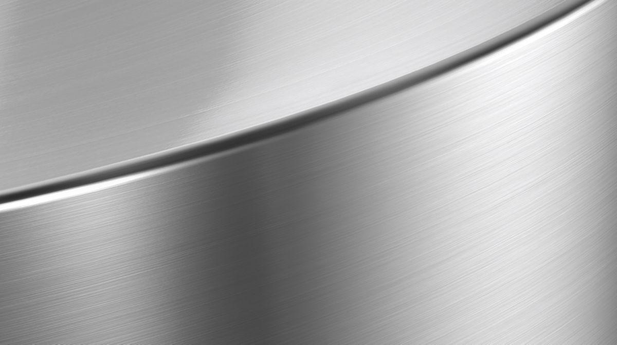 Hoogwaardig roestvast staal en superieure kunststoffen