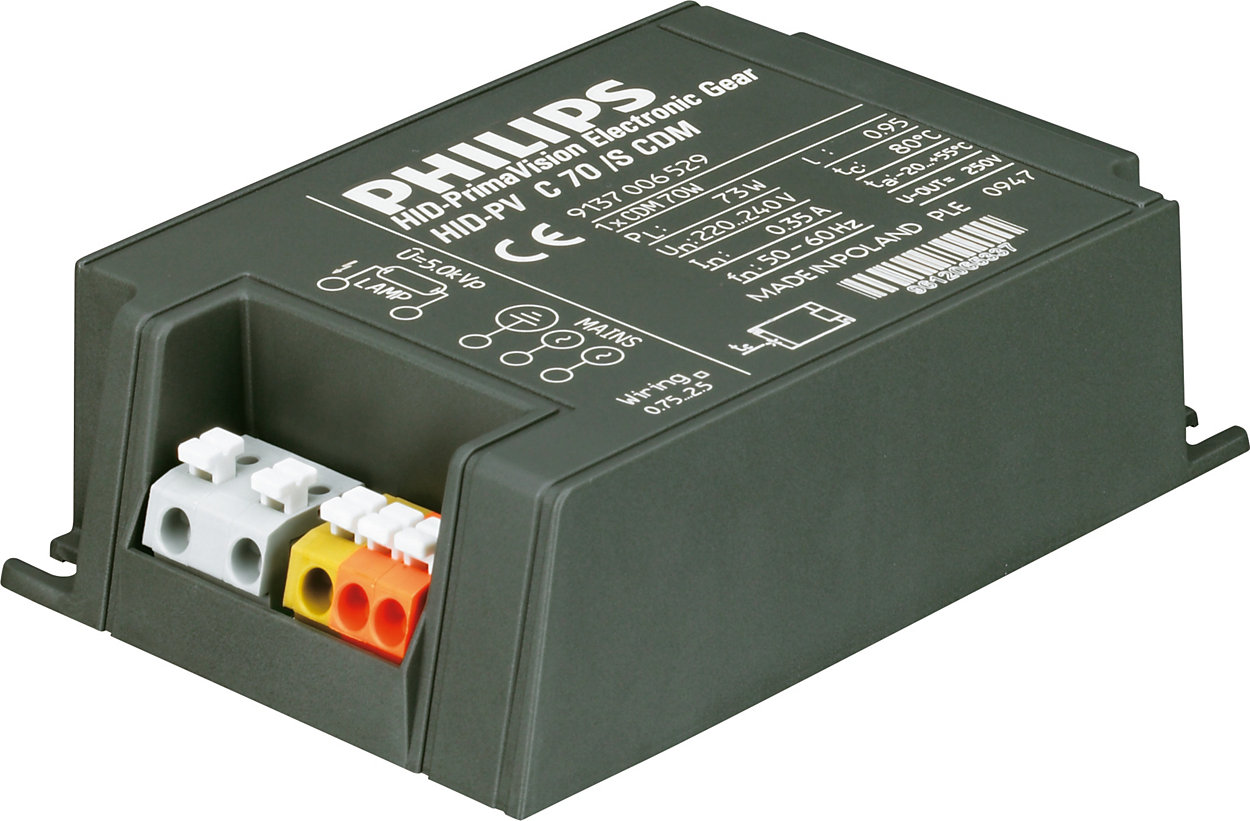 PrimaVision Compact (35, 50 & 70 W) voor CDM: Hoge kwaliteit en robuuste prestaties