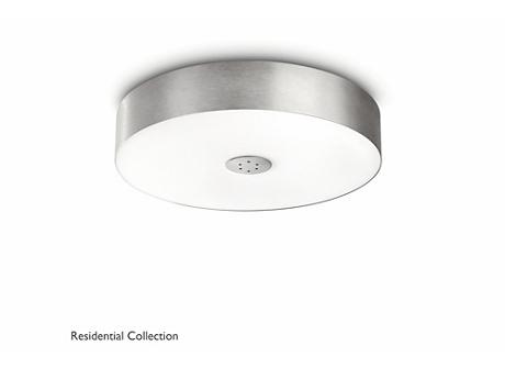 Fair ceiling lamp aluminium 1x60W 230V