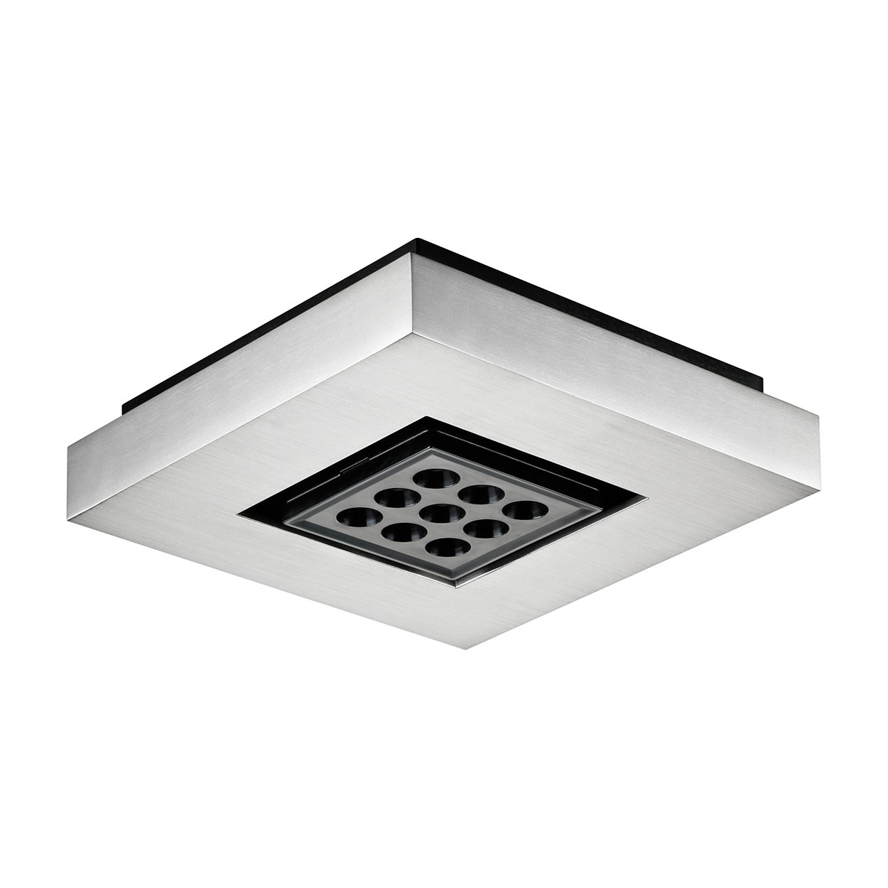 eW Downlight Powercore - Downlight a LED montato su superficie per illuminazione d'accento e generale