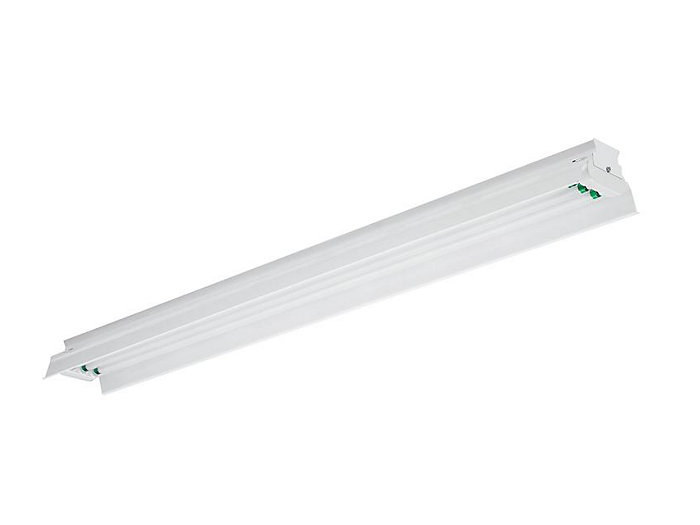 4', 4 Lamp F54T5HO, Painted Polyester 10% Uplight Reflector