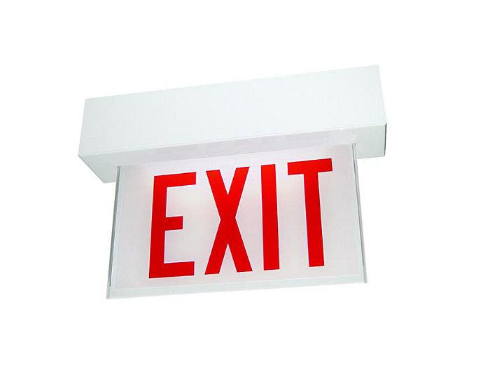 Edge-Glo Edge-Lit Exit