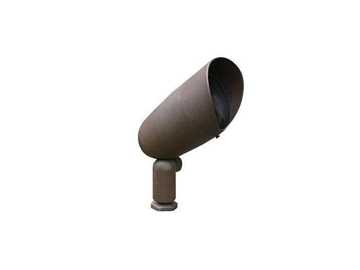Accent, Ultem Composite Bullyte w/ Stake & Lamp, Verde, 7W LED, Narrow Flood