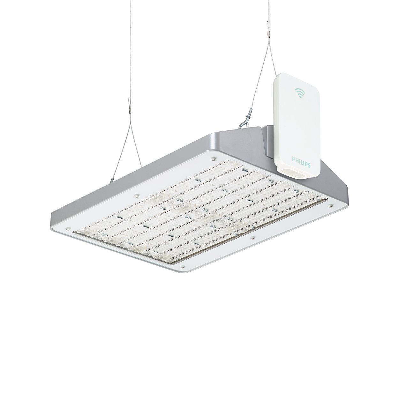 Ein kabellos-vernetztes Beleuchtungssystem für Lager- und Produktionshallen, mit dem Sie Ihren Energieverbrauch optimieren können
