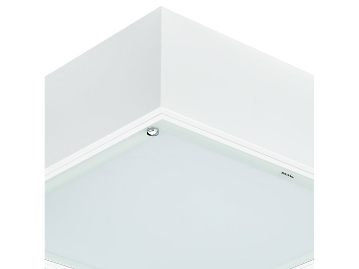 Cleanroom LED CR150B luminaire, module size 300x1200 mm, with surface-mounting box