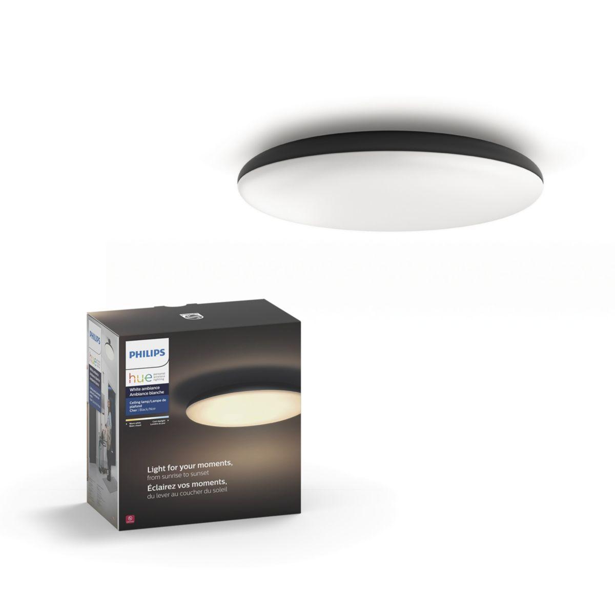 Buy the PHILIPS Hue White ambiance Cher ceiling light 4096730U7 Cher  ceiling light