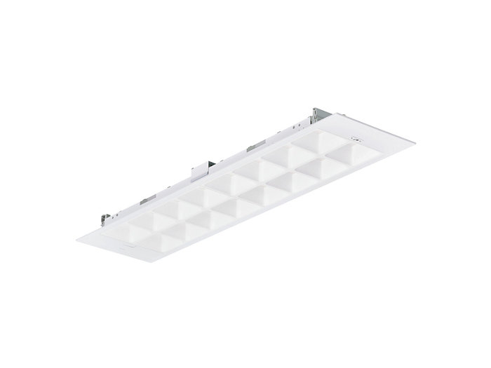 PowerBalance PoE RC463B recessed LED luminaire, module size 31x125 mm (visible profile ceiling version)