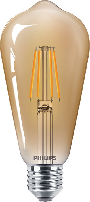 Lámparas LED clásicas de filamento para iluminación decorativa