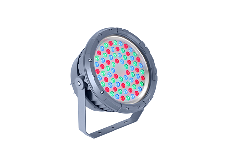BVP324 72LED RGB 220V 30 DMX