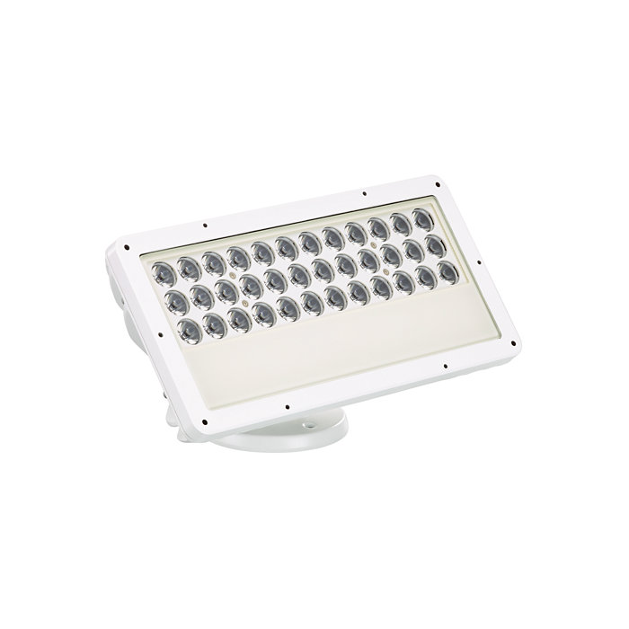 eColor Blast Powercore gen4 – A customisable exterior LED wash luminaire with solid coloured light