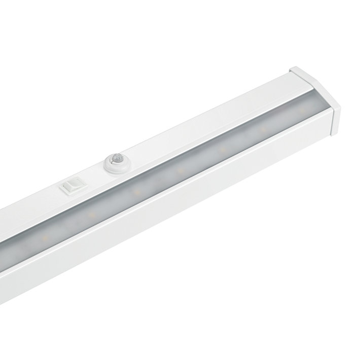 Under-cabinet workplace LED task light for rapid retrofits and exceptional energy savings