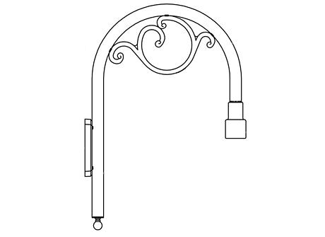 Bracket Arm (250S)