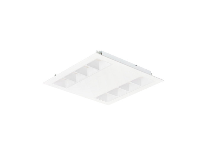 PowerBalance gen2 RC362B recessed luminaire, square version