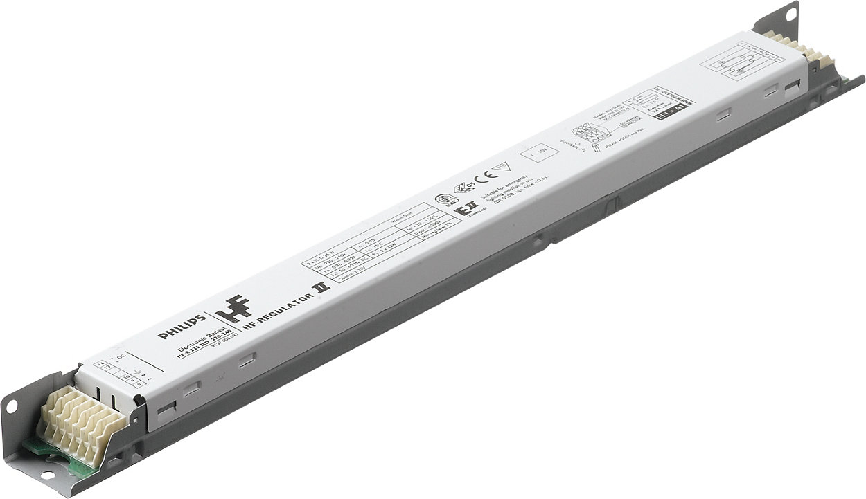 HF-Regulator II for TL5 lamps – Dimming: a next step in energy saving