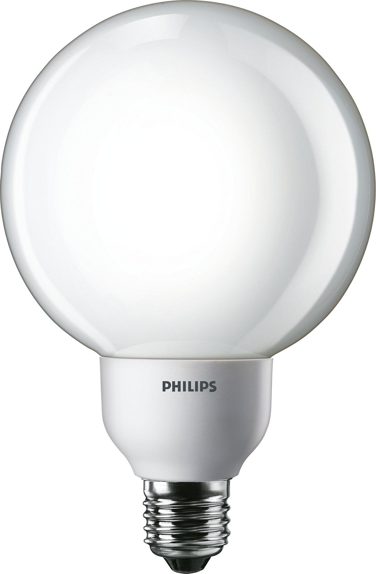 Energy saving lamp in decorative Globe shape