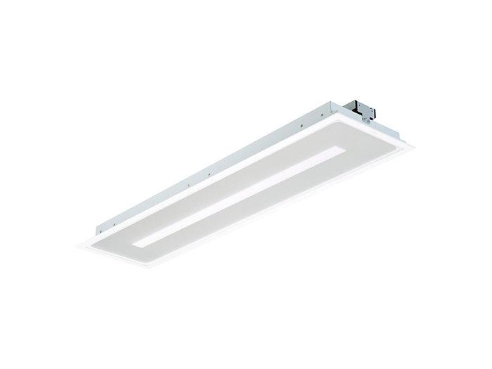 SmartBalance, Langfeld LED-Einbauleuchte mit SmartBalance-Signatur für Gipskartondecken und Deckensysteme mit verdeckten Tragprofilen, Modul 312,5 x 1250, RC482B PCV / CPC