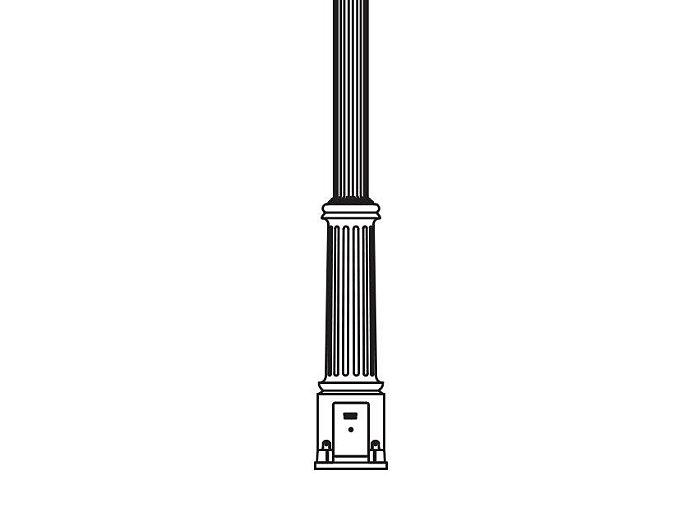 Anchor Base Post (714-)