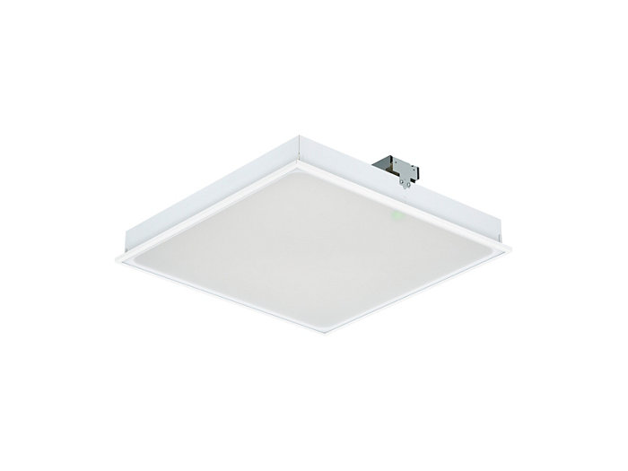 SmartBalance recessed RC480B LED luminaire with emergency lighting, module size 600 (visible profile ceiling version)
