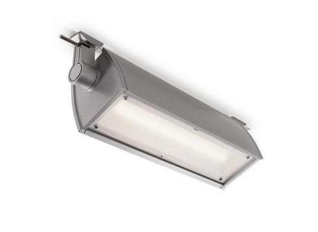 LightFlood LED Vertical Blade Louver, Matte Black