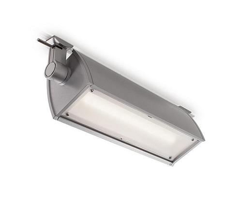LightFlood LED Visor with kick reflector, Aluminum