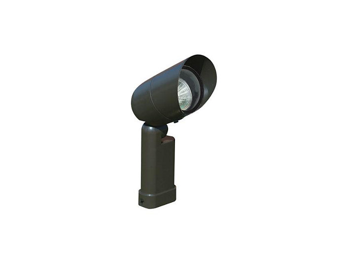 Accent, Aluminum Bullyte, Bronze, 7W LED, Narrow Flood, 3000K, 120V