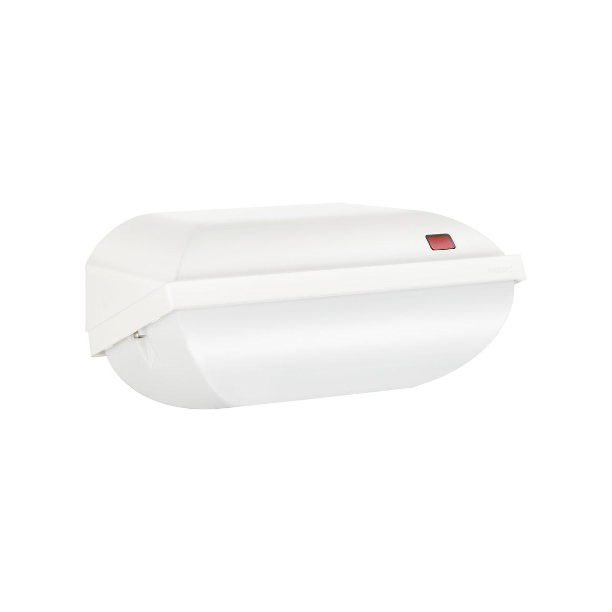 Aantrekkelijke, energiezuinige armaturen voor nachtelijke beveiliging en sfeerverlichting
