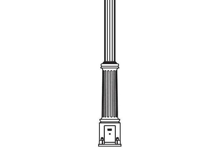 Anchor Base Post (713-)
