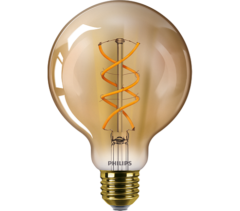 CLA LEDBulb SP ND 5-25W E27 GOLD G93 CL