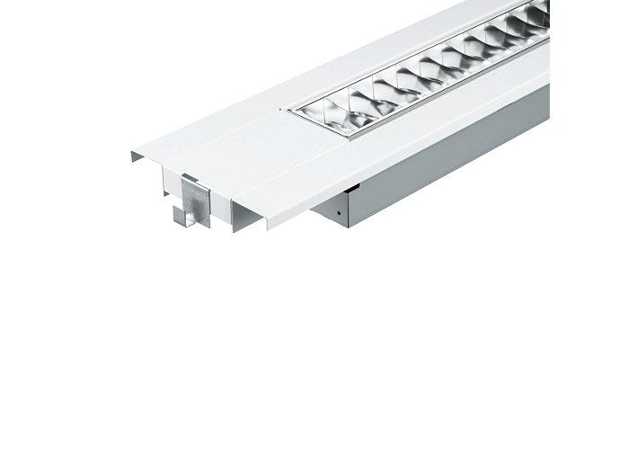 SmartForm TBS415 recessed semi-modular luminaire, extended version