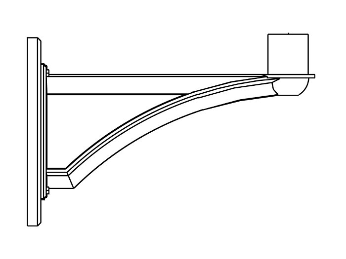 Arms, Wall Mount (PTW2880)