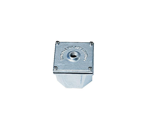 "CAST IRON JUNCTION BOX,3/4""NPT"